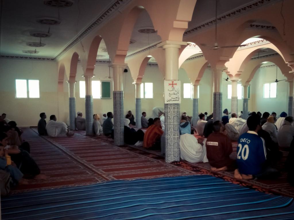 Mezquita de los hombres. / © Lola Hierro.
